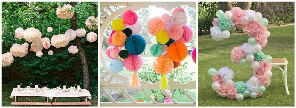 8 dekoru idejas ballītei pie dabas!