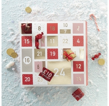 "Адвент календарь ""Красные коробочки"""