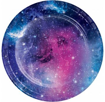"Šķīvīši ""Kosmoss""  (8 gab /17 cm)"