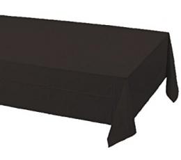 Скатерть, черная (137 х 274 см)