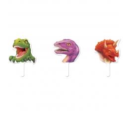 """Irbulīši-dekorācijas """"Dinozauri"""" (12 gab)"""