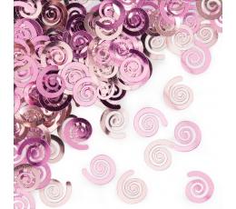 "Konfeti ""Maigi rozā ruļļi"""