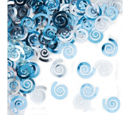 """Конфетти """"Синие рулоны"""""""