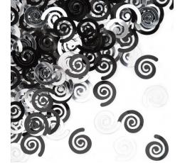 """Konfeti """"Melni ruļļi"""""""