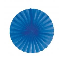 Dekorācija-vēdeklis, zils (40 cm)