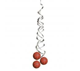 """Karināmās dekorācijas """"Basketbols"""" (2 gab)"""