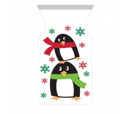 "Dāvanu maisiņi ""Pingvīni"" (12 gab)"