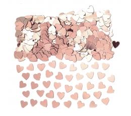"Konfettī ""Rozā zelta sirsniņas"" (14 g)"