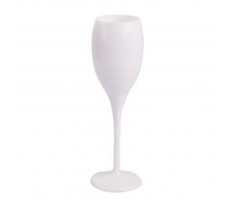 Šampanieša glāze, balta plastmasas (1 gab)
