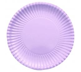 Šķīvīši-paplātes, lillā (10 gab/ 29 cm)