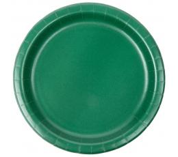 Šķīvīšī, tumši zaļi (24 gab/ 18 cm)