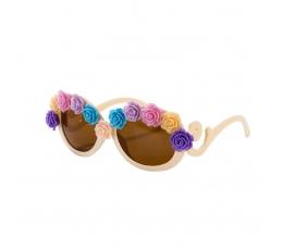 """Dekoratīvas brilles """"Ziedi"""""""