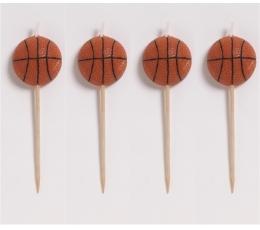 "Svecītes-irbulīši ""Basketbols"" (4 gab)"