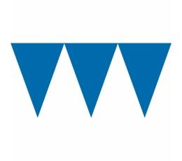 Гирлянда флажками, темно синяя (4,5 м)