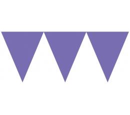 Karodziņu virtene, violeta(4,5m)