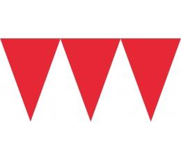 Karodziņu vītne, sarkana (4,5 m)