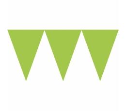 Karodziņu virtene, salātkrāsas (4,5m)