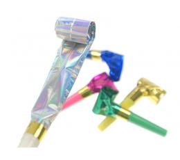 Svilpītes, spīdīgas-krāsainas (20 gab)