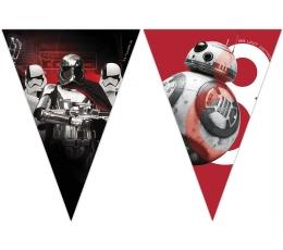 "Karodziņu virtene ""Zvaigžņu kari- The Last Jedi"" (9 karodziņi)"