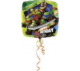 "Follija balons ""Bruņurupuči Nindzjas"" (43cm)"