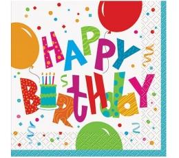 """Salvetes """"Dzimšanas diena"""" (16gab)"""
