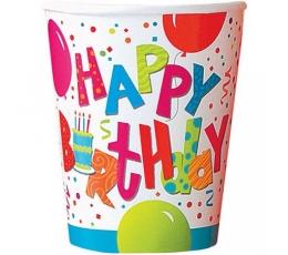 """Glāzītes """"Dzimšanas diena""""  (8gab/266ml)"""