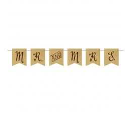 "Гирлянда ""Mr&Mrs"" (1,5 m)"