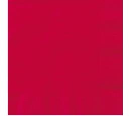 Salvetes, spilgti sarkanas (50 gab)