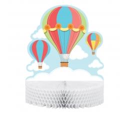 "Galda dekorācija ""Gaisa baloni"""