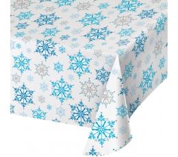 """Galdauts """"Sniegpārsliņas"""" (137 x 259 cm)"""