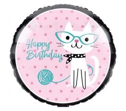 """Folija balons """"Kaķītis"""" (45 cm)"""