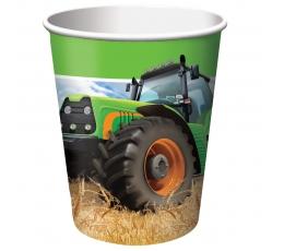 "Glāzītes ""Traktori"" (8 gab/266 ml)"
