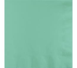 Salvetes, piparmētru krāsā (50 gab)