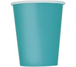 Glāzītes, tirkīza krāsā (14 gab/266 ml)