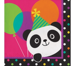 """Salvetes """"Līksmā Panda"""" (16 gab)"""