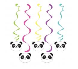 """Karināmas dekorācijas """"Panda"""" (5 gab)"""