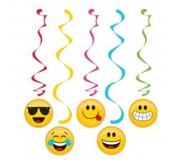 """Karināmās dekorācija """"Smaidiņi""""  (5gab)"""