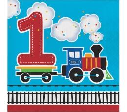 """Salvetes """"Vilciens 1-ā dzimšanas diena"""""""
