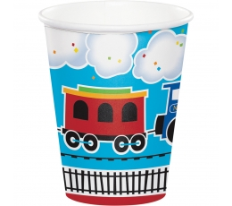 "Glāzītes ""Vilciens"" (8 gab / 266 ml)"