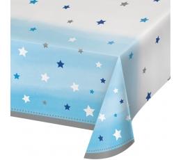 """Galdauts """"Zilas zvaigznītes"""" (137x254 cm)"""
