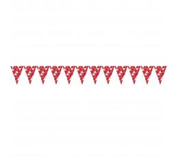 "Karodziņu virtene ""Sarkanas figūras"" (2,74 m)"