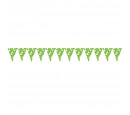 """Karodziņu virtene """"Salātkrāsas figūras"""" (2,74 m)"""
