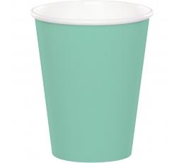 Glāzītes, piparmētru krāsā (8 gab/ 266 ml)