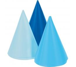 Мини шапочки, синие (8 шт)