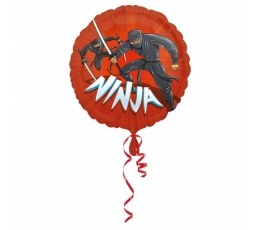 "Folija balons ""Nindzja"" (43 cm)"