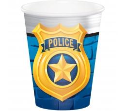 "Glāzītes ""Policisti"" (8 gab/ 266 ml)"