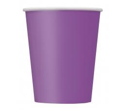 Glāzītes, spilgti lillā (8 gab/266 ml)