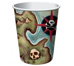 "Glāzītes ""Pirātu dārgumi"" (8 gab/266 ml)"