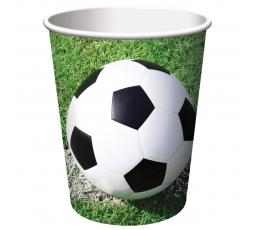 "Glāzītes ""Futbols""(8 gab/266 ml)"