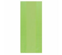 Plastikāta dāvanu maisiņi, salātkrāsas (25 gab)